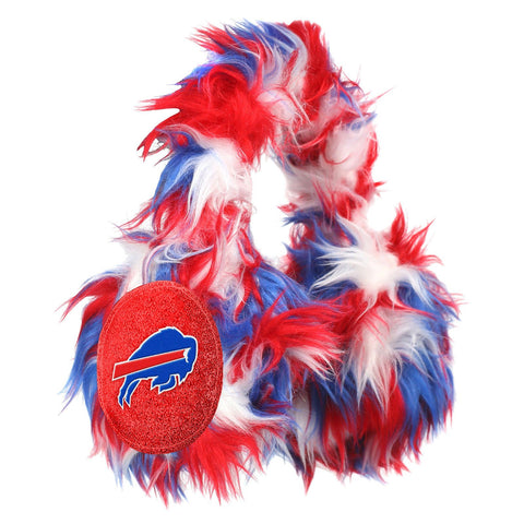 Buffalo Bills NFL Oversized Plush Warm Winter Earmuffs
