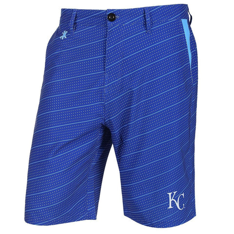 Kansas City Royals Official MLB Dots Walking Shorts with Pockets Button and Zipper