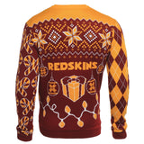 Washington Redskins Official NFL Christmas Tree & Ornament Ugly Sweater