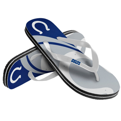 Indianapolis Colts Official NFL Unisex Thong Flip Flops