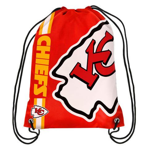 Kansas City Chiefs Official NFL Drawstring Backpack 2015