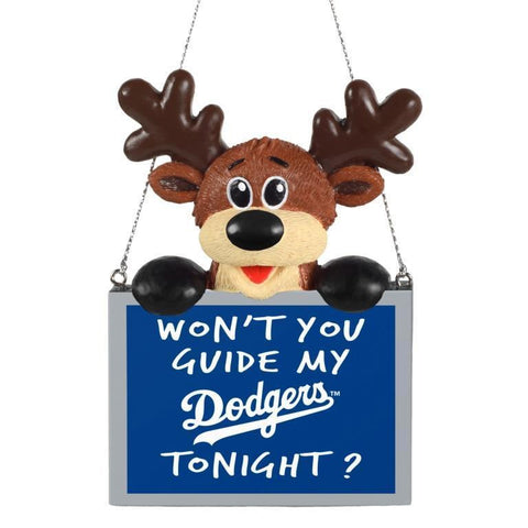Los Angeles Dodgers MLB Christmas Tree Ornament