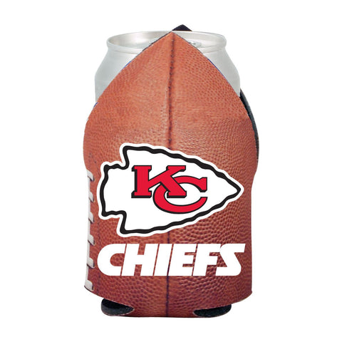 Kansas City Chiefs NFL Beer Can Pigskin Holder Neoprene Cooler