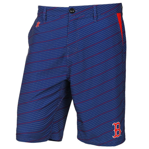 Boston Red Sox Official MLB Dots Walking Shorts with Pockets Button and Zipper