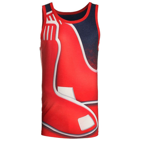 Boston Red Sox Official MLB Big Logo Mens Tank Top