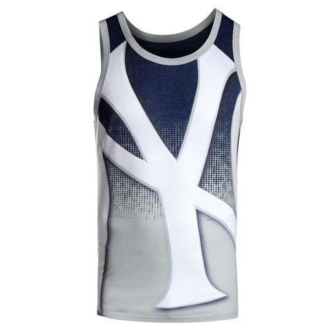 New York Yankees Official MLB Big Logo Mens Tank Top