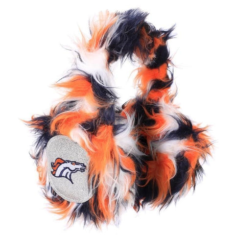 Denver Broncos NFL Oversized Plush Warm Winter Earmuffs