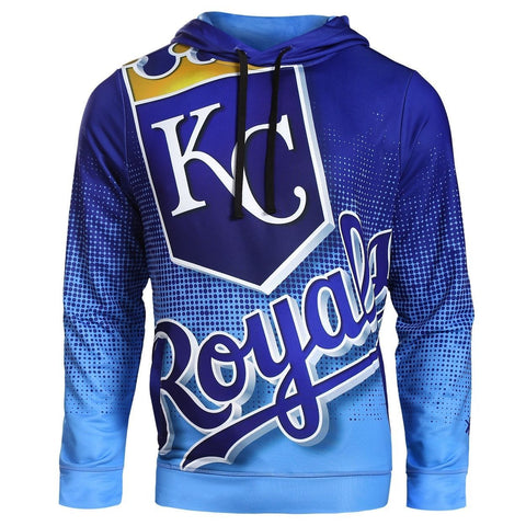 Kansas City Royals MLB Big Logo PolyFleece Hoodie