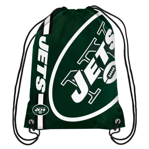 New York Jets Official NFL Drawstring Backpack 2015