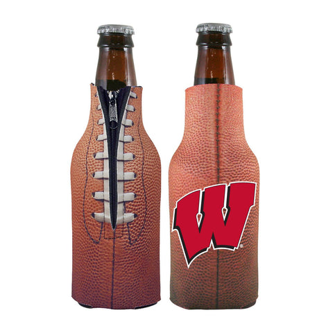 Wisconsin Badgers NCAA Pigskin Bottle Coolie Cooler