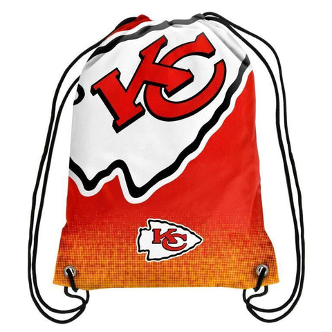Kansas City Chiefs Official NFL Drawstring Backpack 2016