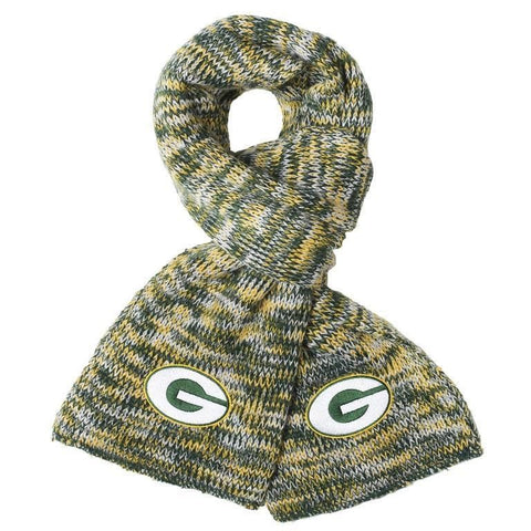 Green Bay Packers Official NFL Football Team Logo Warm Winter Peak Scarf