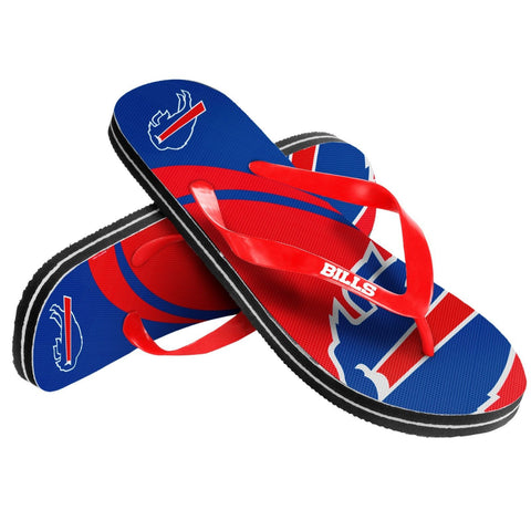 Buffalo Bills Official NFL Unisex Thong Flip Flops