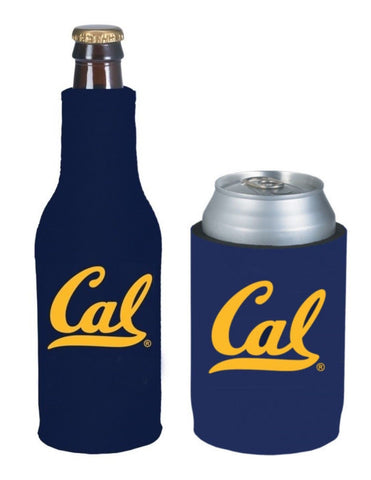 California Golden Bears NCAA Bottle & Can Beer Soda Drink Holder-2 Pack