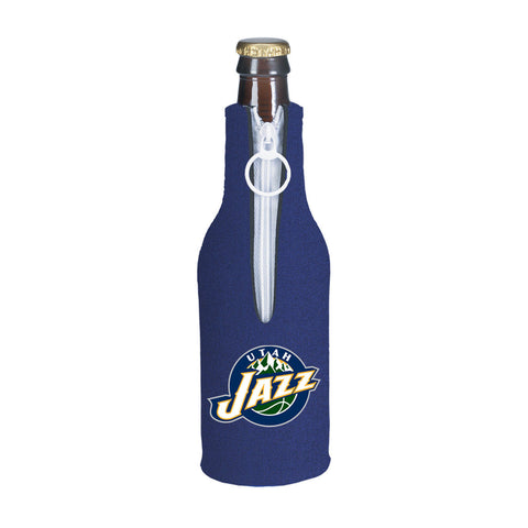 Utah Jazz NBA Beer Bottle Holder - Neoprene Cooler