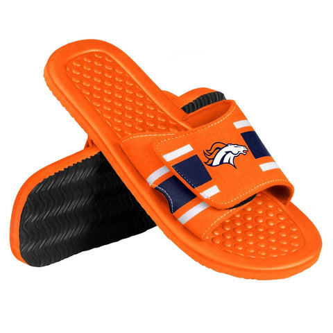 Denver Broncos Official NFL Men's Shower Slide Flip Flops