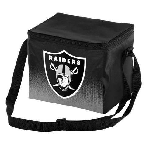 Oakland Raiders Official NFL Gradient 6 Pack Cooler Tote
