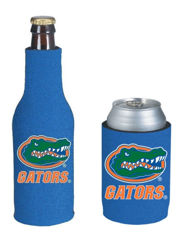Florida Gators NCAA Bottle & Can Beer Soda Drink Holder-2 Pack