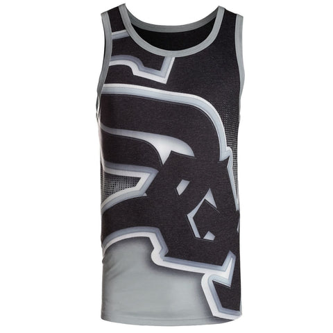 Chicago White Sox Official MLB Big Logo Mens Tank Top