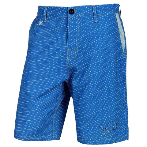 Detroit Lions Official NFL Dots Walking Shorts with Pockets Button and Zipper
