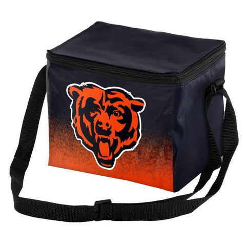 Chicago Bears Official NFL Gradient 6 Pack Cooler Tote