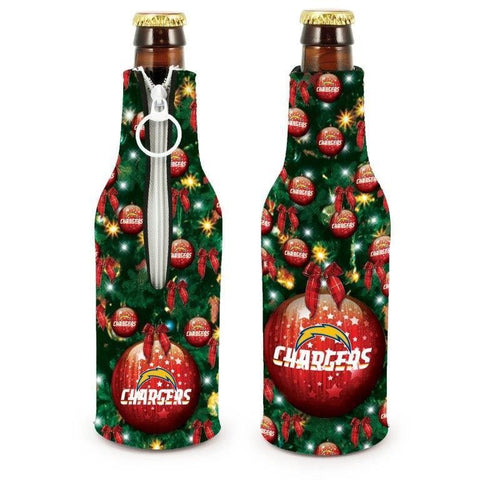 San Diego Chargers NFL Christmas Holiday Bottle Suit Coolers - 2Pack
