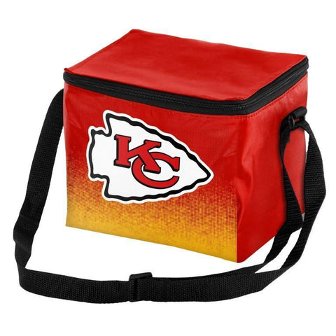Kansas City Chiefs Official NFL Gradient 6 Pack Cooler Tote