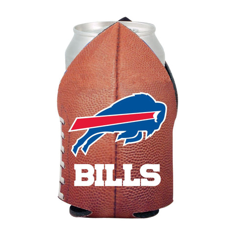 Buffalo Bills NFL Beer Can Pigskin Holder Neoprene Cooler