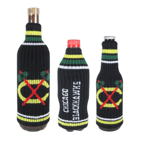 Chicago Blackhawks NHL Stretchy Woolie Krazy Kover Bottle Cooler