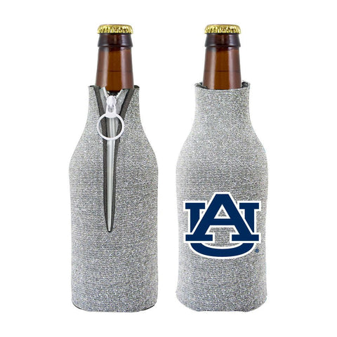 Auburn Tigers NCAA Insulated Neoprene Ladies Glitter Bottle Cooler