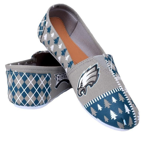 Philadelphia Eagles Women's Official NFL Ugly Canvas Shoes