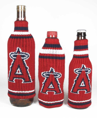 Los Angeles Angels Official MLB Krazy Kovers Stretchy Woolie Bottle Cooler