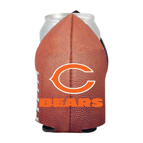 Chicago Bears NFL Beer Can Pigskin Holder Neoprene Cooler