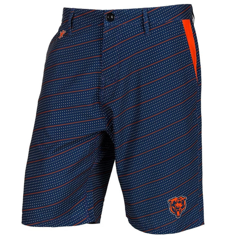 Chicago Bears Official NFL Dots Walking Shorts with Pockets Button and Zipper