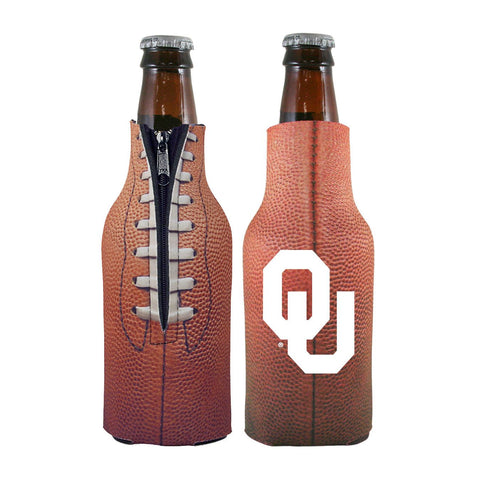 Oklahoma Sooners NCAA Pigskin Bottle Coolie Cooler