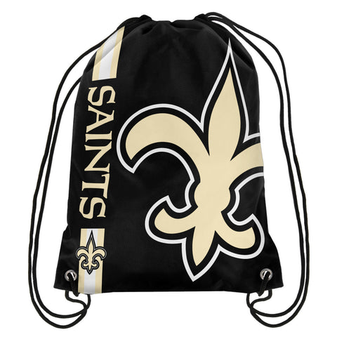 New Orleans Saints Official NFL Drawstring Backpack 2015