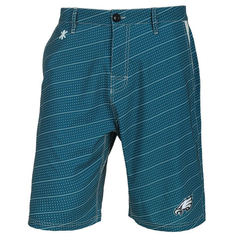Philadelphia Eagles Official NFL Dots Walking Shorts with Pockets Button and Zipper