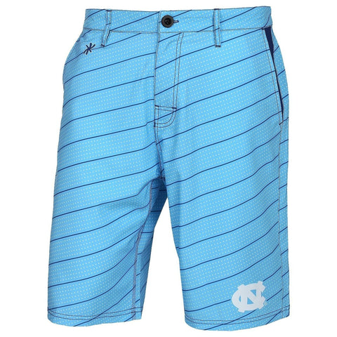 North Carolina Tar Heels Official NCAA Dots Walking Shorts with Pockets Button and Zipper