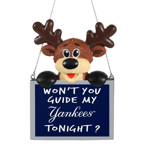 New York Yankees MLB Christmas Tree Ornament