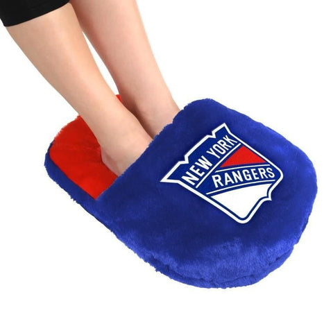 New York Rangers NHL Hockey Team Logo Team Foot Pillow