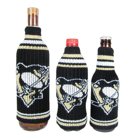 Pittsburgh Penguins NHL Stretchy Woolie Krazy Kover Bottle Cooler