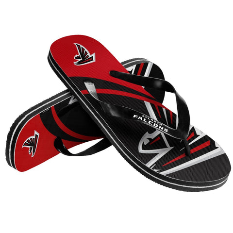 Atlanta Falcons Official NFL Unisex Thong Flip Flops