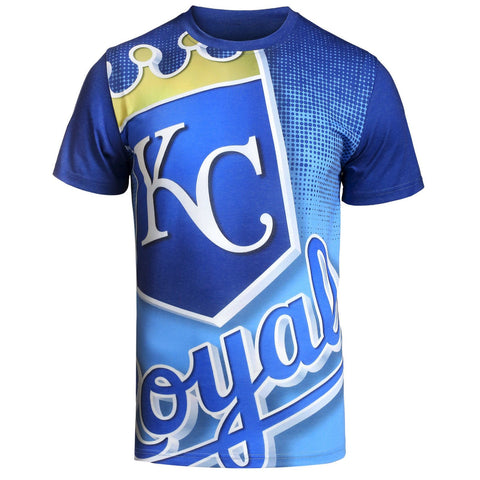 Kansas City Royals Official MLB Big Logo T-Shirt