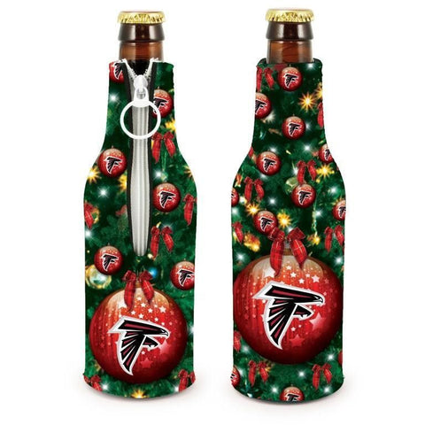 Atlanta Falcons NFL Christmas Holiday Bottle Suit Coolers - 2Pack