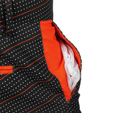 Baltimore Orioles Official MLB Dots Walking Shorts with Pockets Button and Zipper