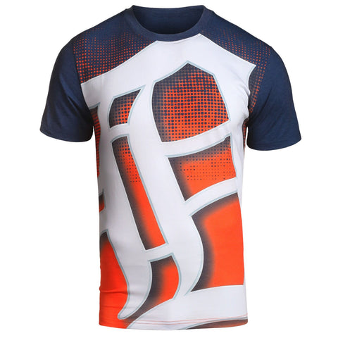 Detroit Tigers Official MLB Big Logo T-Shirt