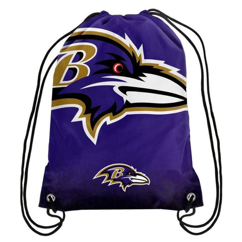 Baltimore Ravens Official NFL Drawstring Backpack 2016