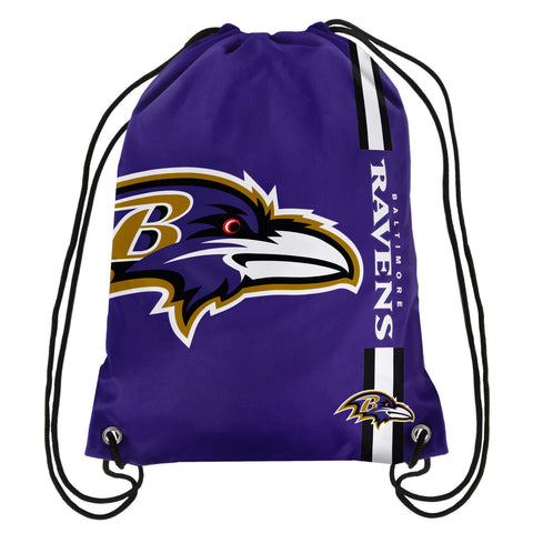Baltimore Ravens Official NFL Drawstring Backpack 2015