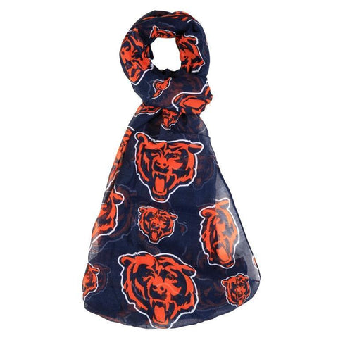 Chicago Bears Official NFL Logo Infinity Scarf