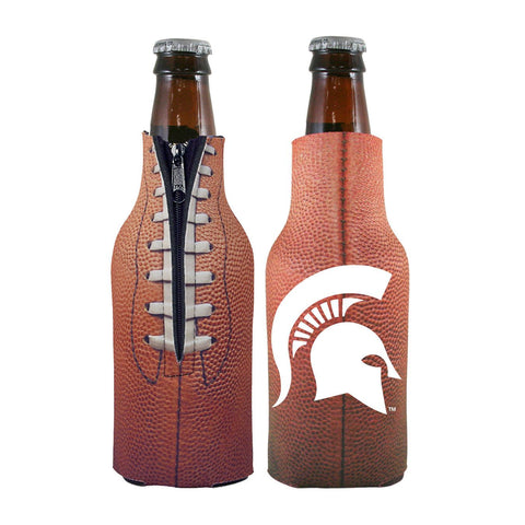 Michigan State Spartans NCAA Pigskin Bottle Coolie Cooler